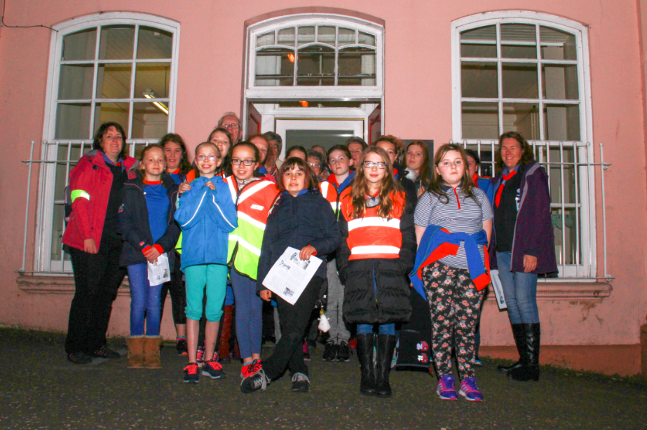 Beith Guides historical walk