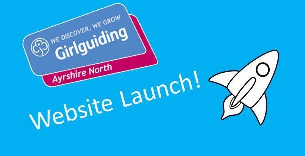 Girlguiding Ayrshire North's Website Launch!